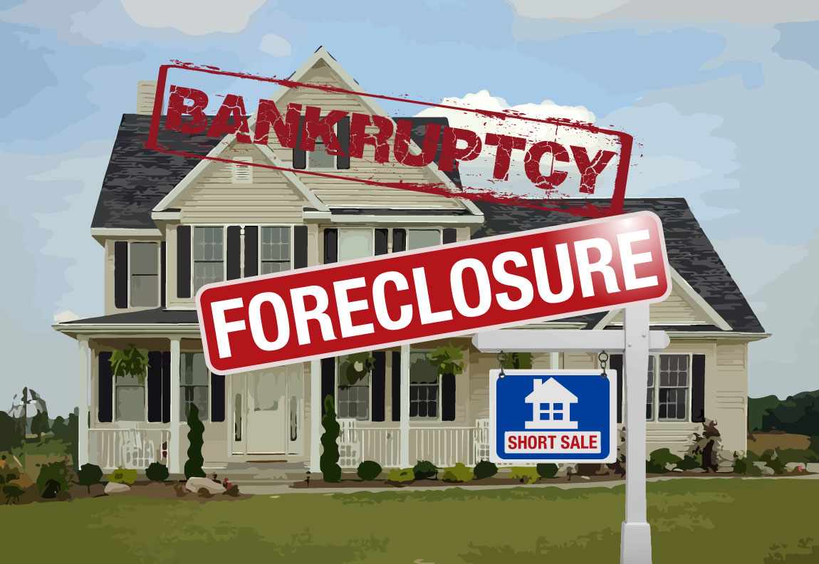 Make A Tough Choice: Foreclosure Or Bankruptcy