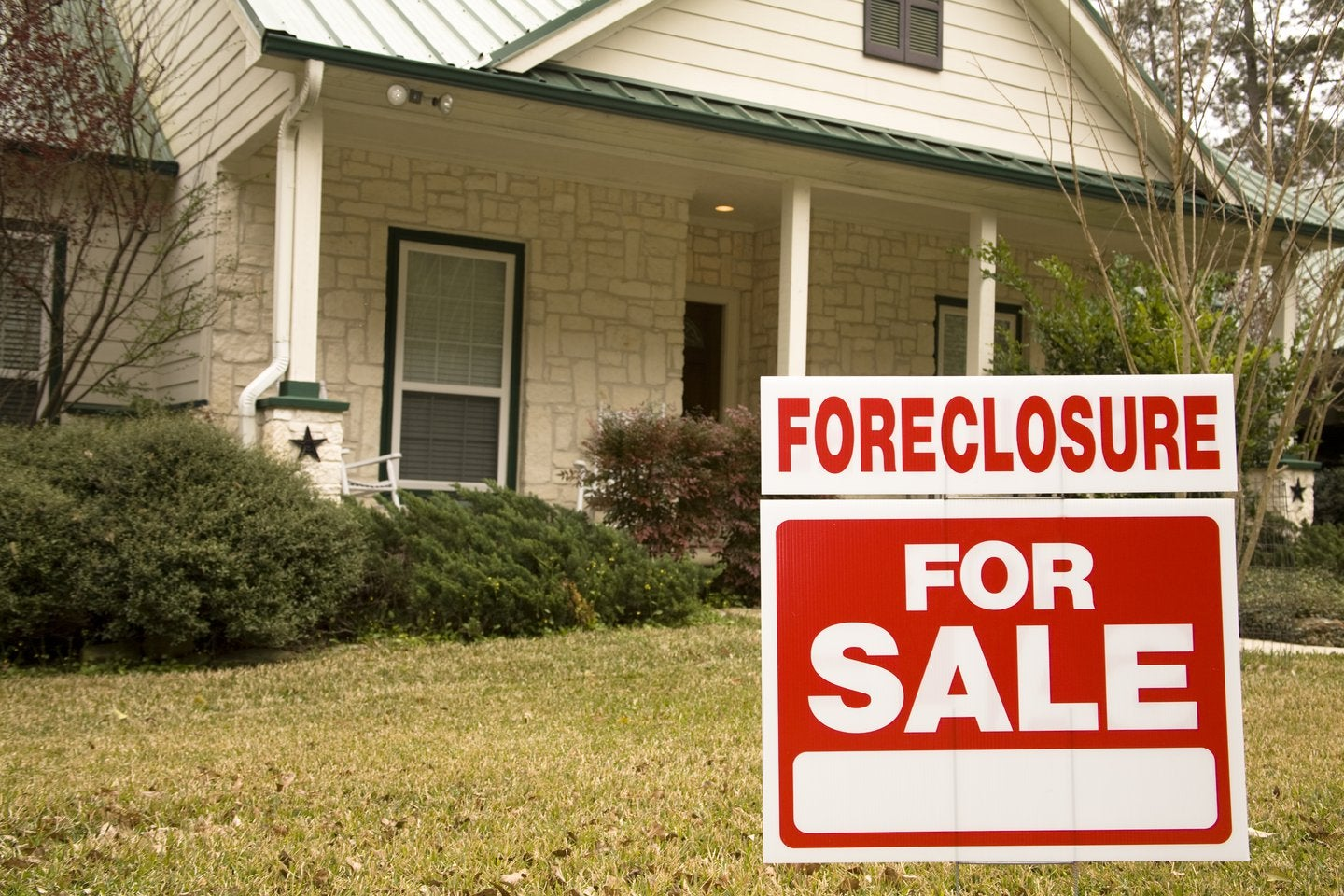 GET HOUSE OUT OF FORECLOSURE