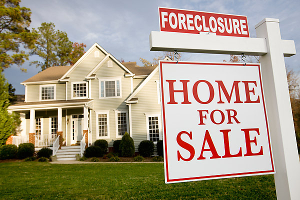 Why do people go through foreclosures?
